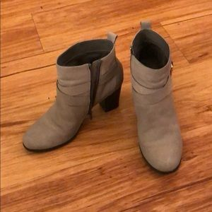 Cole Haan leather booties size 7